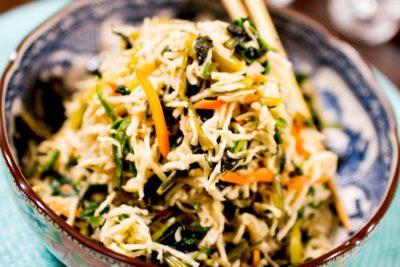 小松菜と切り干し大根のナムル〜おうちでパパッとご飯〜