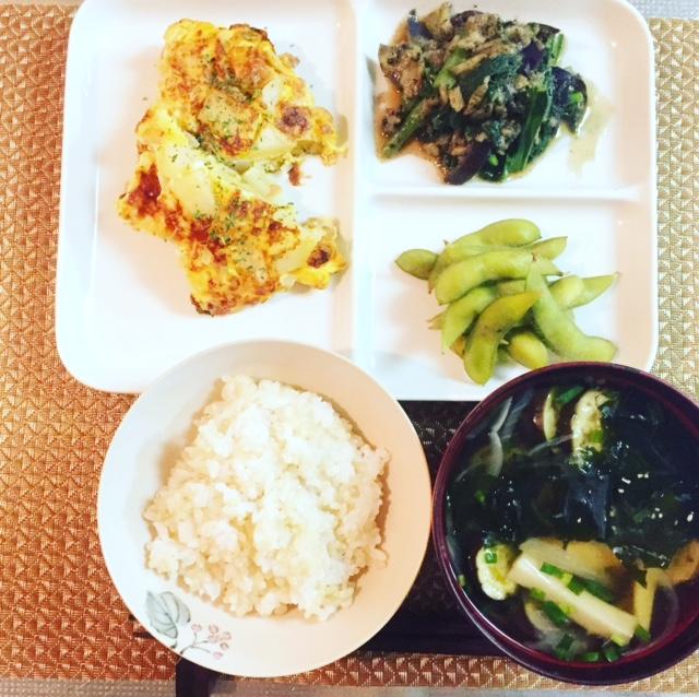 好評!第9弾 3食材(卵、小松菜、なす)くりまわし3日間 NO.1